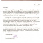 Christopher Frye Esq. testimonial for Cohtich Construction